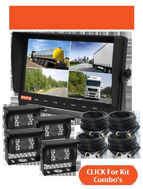 10.1inch Quad Reversing Camera Kit Combinations