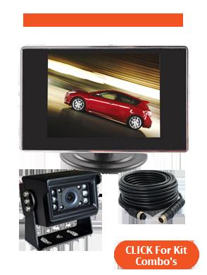 3.5inch Reversing Camera Kit Combinations