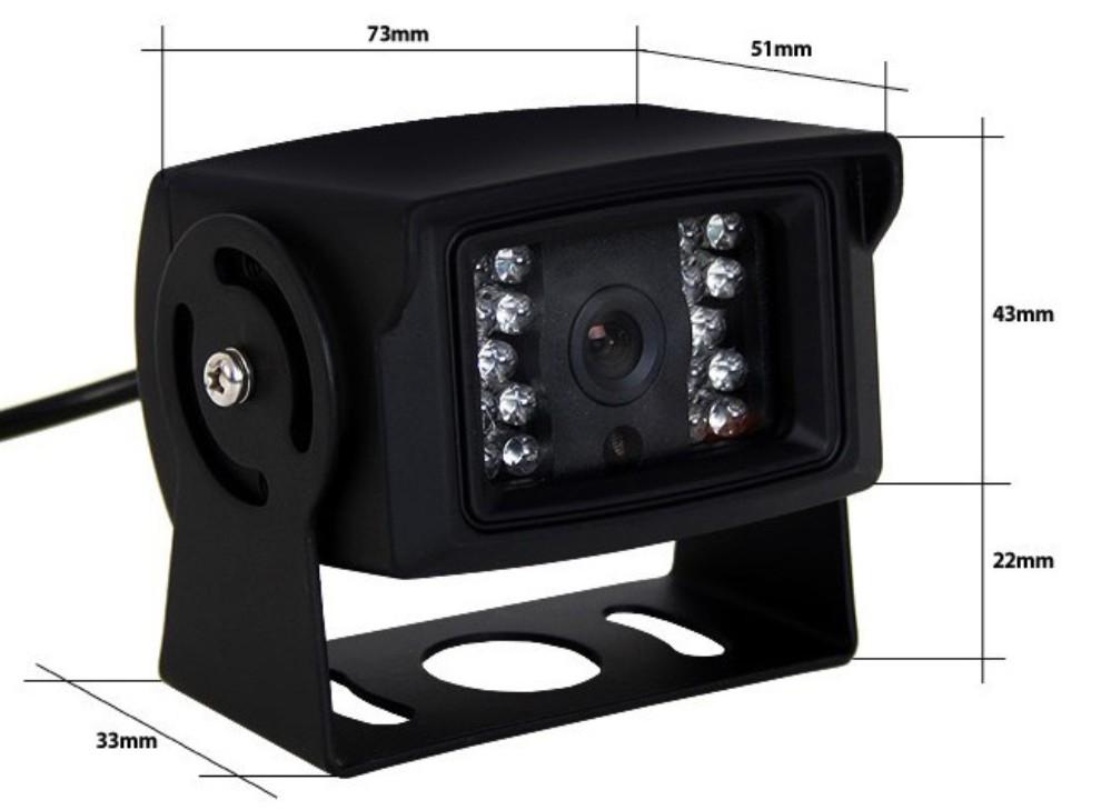 Camera CSD15 Dimension