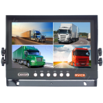 9inch Quad Vehicle Reversing/Observation Monitor