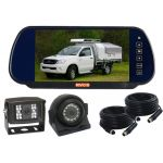 7inch Rearview Mirror Monitor Backup Camer Kit