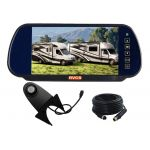 7inch Coaches Rear View Mirror Monitor CCD Camera Kit