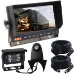 7inch Vehicle Rear Vision Observation Monitor Kit With Truck Camera