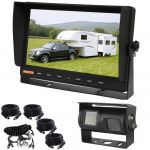 10.1inch Caravan Rear View Kit With Dual Camera At The Back Of Caravan
