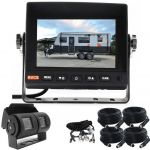5inch Caravan Safety Driving Kit With Two Camera Suzie/Curly Cable And Dual Camera