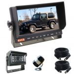 7inch Four Wheel Drive Reversing Monitor Kit With Two Security Cameras