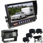 9inch Trailer Rear View Kit With Dual Cameras