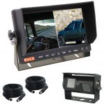 7inch Truck Rear VIew System With Dual Camera And Dual Monitor