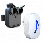 RVCS Battery Operated Driveway Alarm Sensor with Indoor Chime (DW-R81TO500M)