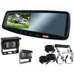 4.3inch Caravan Rear View Safety Kit With One Camera Suzie/Curly Cable