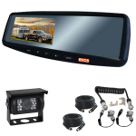 4.3inch Caravan Reversing Mirror Monitor Kit includes one camera for the back of the caravan & a suzi cable (RV-MG4.3BC13)