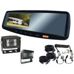4.3inch Caravan Rear Vision System With One Camera Trailer Cable