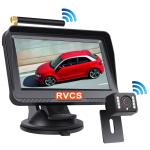 Digital Wireless 4.3-inch Monitor and One Backup Camera (RV-DWSU4391C)
