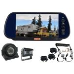 7inch Caravan Rear Vision Mirror Monitor Kit With One Camera Suzie/Curly Cable