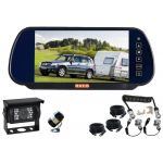 7inch Caravan Rear Vision Kit With One Camera Suzia/Curly Cable