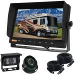 10.1inch Vehicle Reversing Camera Kit With Two CCD Cameras
