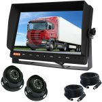 Large 10.1inch Monitor with Two 120°  Reversing Observation Cameras
