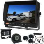 Reversing Cameras 10.1inch Monitor Suit Van/Truck Provide  A Clear View behind a Trailer with the Convenience of a Secure Woza Cable On the  Hitch Kit Includes Two Cameras