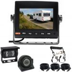 5inch Caravan Reversing Monitor Backup Camera Kit With One Camera Suzie/Curly Cable