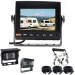 5inch Caravan Rear View Safety Kit With One Camera Suzie/Curly Cable
