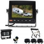 5inch Caravan Rear Vision Safety Kit With One Camera Suzie/Curly Cable