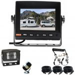 5inch Caravan Reversing Monitor Camera Kit With One Camera Suzie/Curly Cable