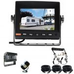 """5"""" Caravan Rear View Kit With One Camera Suzie/Curly Cable"""