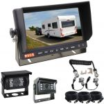 7inch Caravan Rear View Safety System With One Camera Trailer Cable And Two CCD Cameras