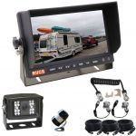 7inch Caravan Reversing Monitor Camera Kit With One Camera Suzie/Curly Cable