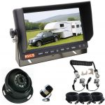 7inch Caravan Rear Vision Kit With One Camera Trailer Cable