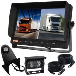 10.1inch Truck Reversing Camera Kit With Dual Screen Monitor
