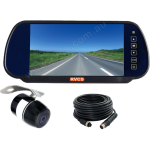 Reversing  Monitor Functions as the Rear Vision Mirror when not Viewing Miniature Camera (RV-KMSDM8750)