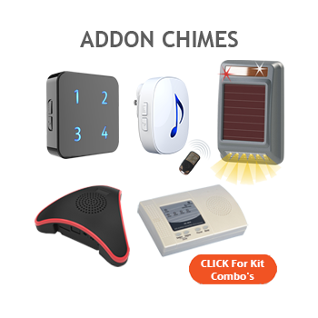 Additional Chimes for Driveway Alarms
