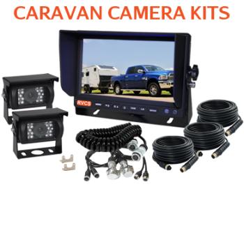 Caravan backup Camera Kits with Suzie Woza Cables