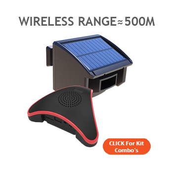 Solar Driveway alarm